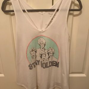 Tops - Golden Girls vintage Tank with cute straps size S